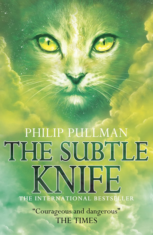 Cover to The Subtle Knife from Wikipedia Commons
